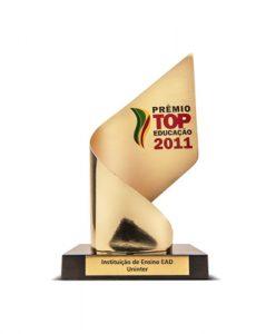 Prêmio Top Educação 2011 - Instituição de Ensino de EAD - Educação à Distância