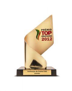 Prêmio Top Educação 2012 - Instituição de Ensino a Distância