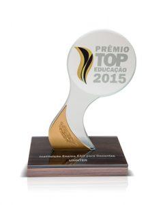 Prêmio Top Educação 2015 - Instituição EAD para Docentes